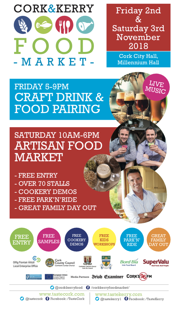 all in one promotion poster cork kerry food market
