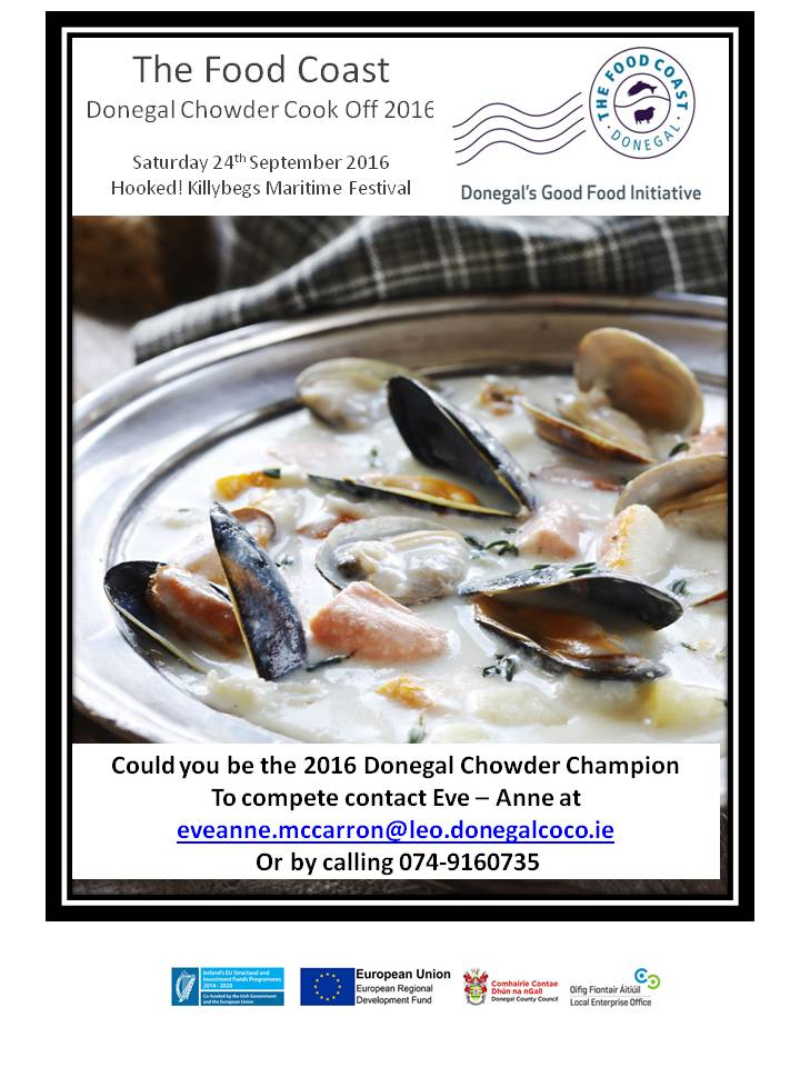 Chowder Cook off 2016 poster