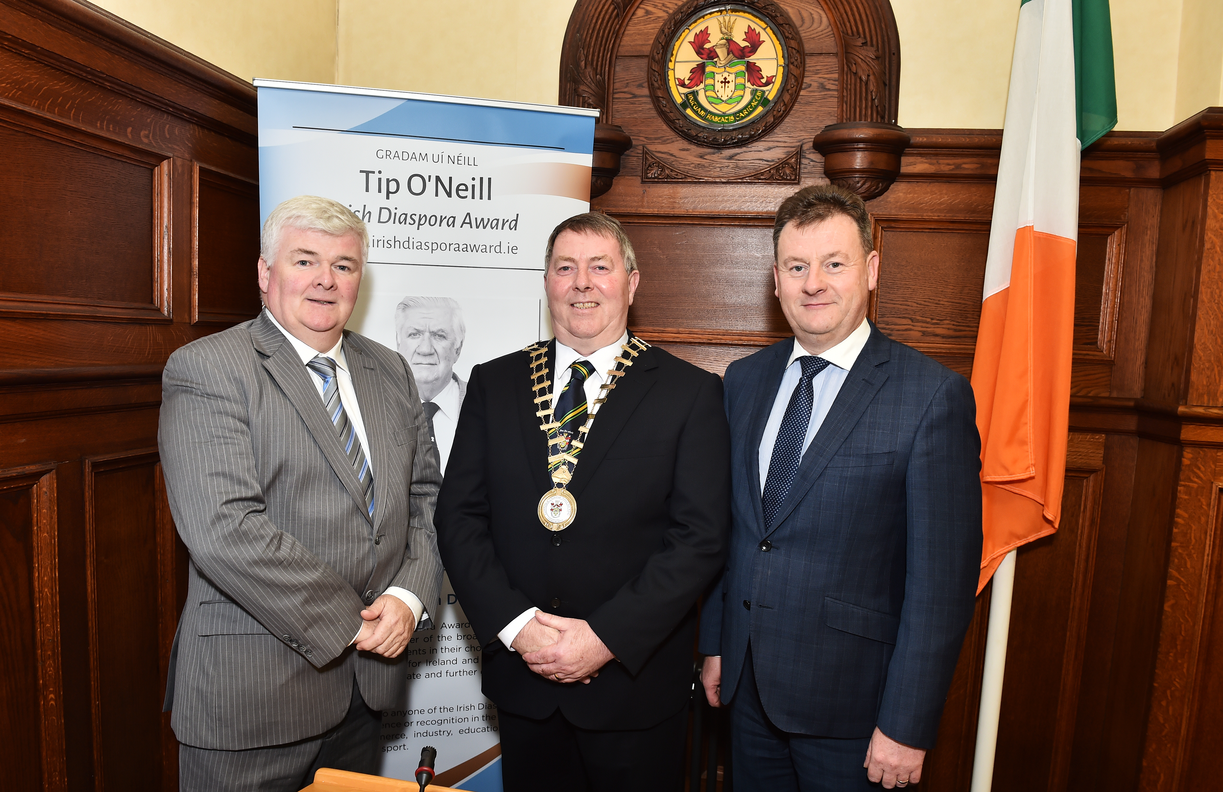 Launch of Tip O'Neill  2017