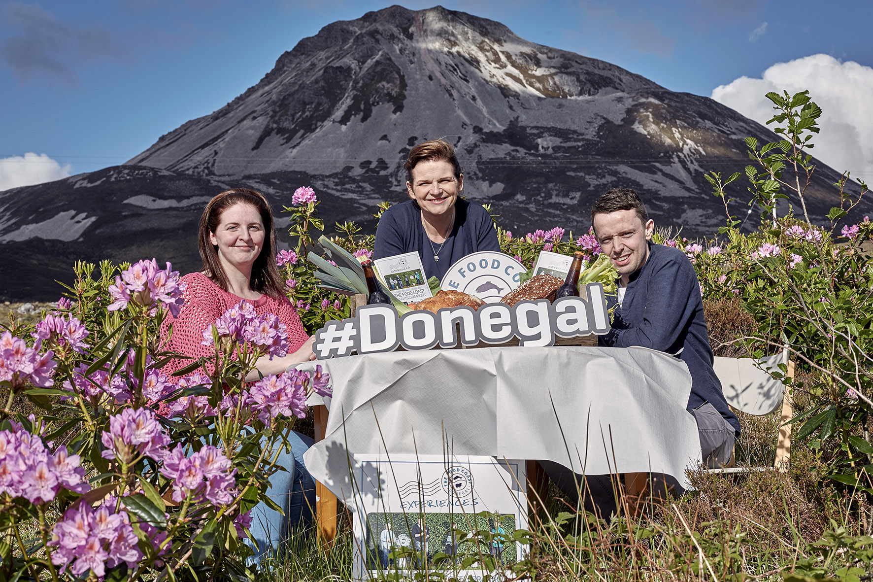 A Donegal Feast at the foot of Errigal