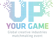 Up your game logo