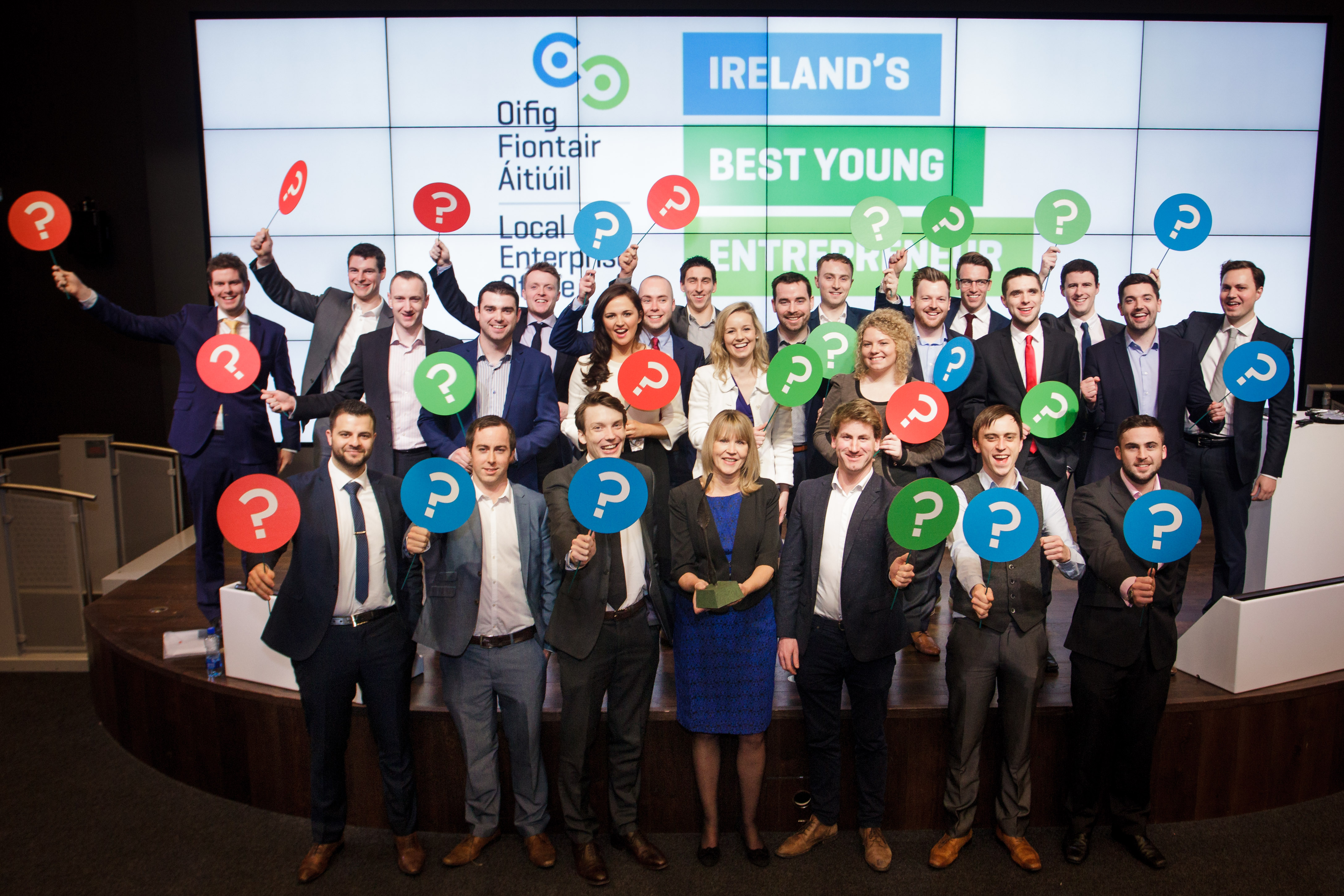 IBYE National Finalists and Sheelagh Daly