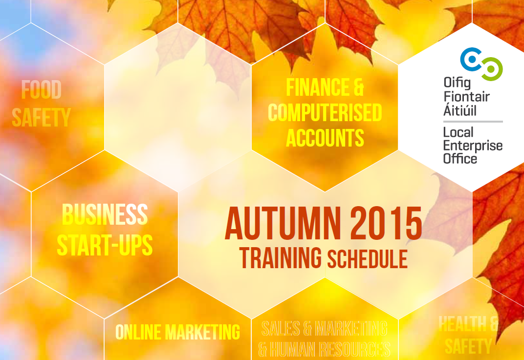 Autumn training brochure