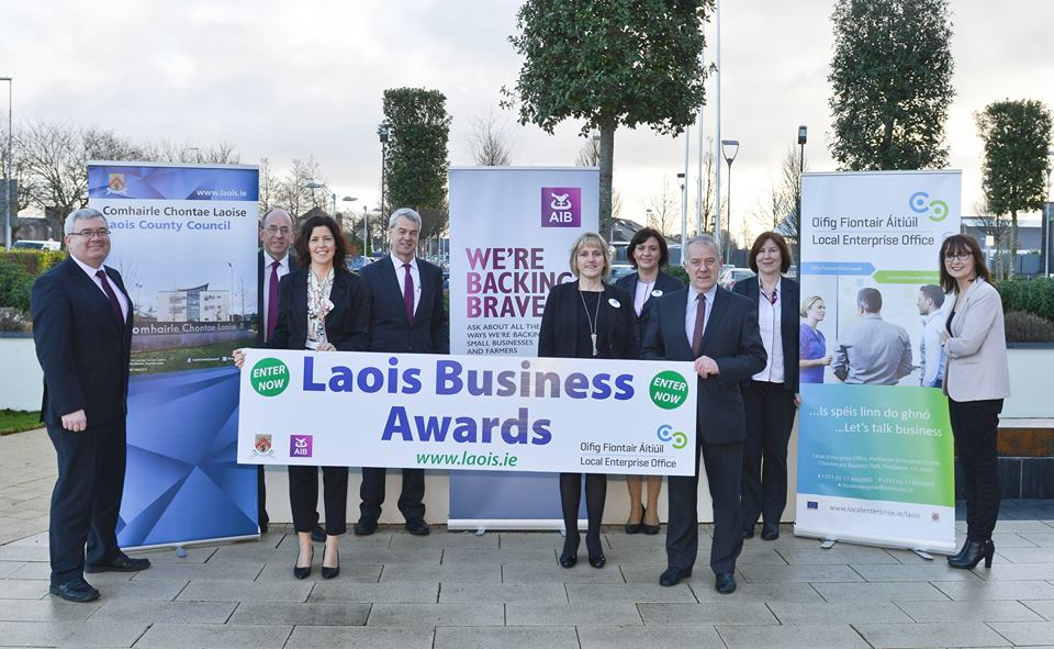 2017 Laois Business Awards - group