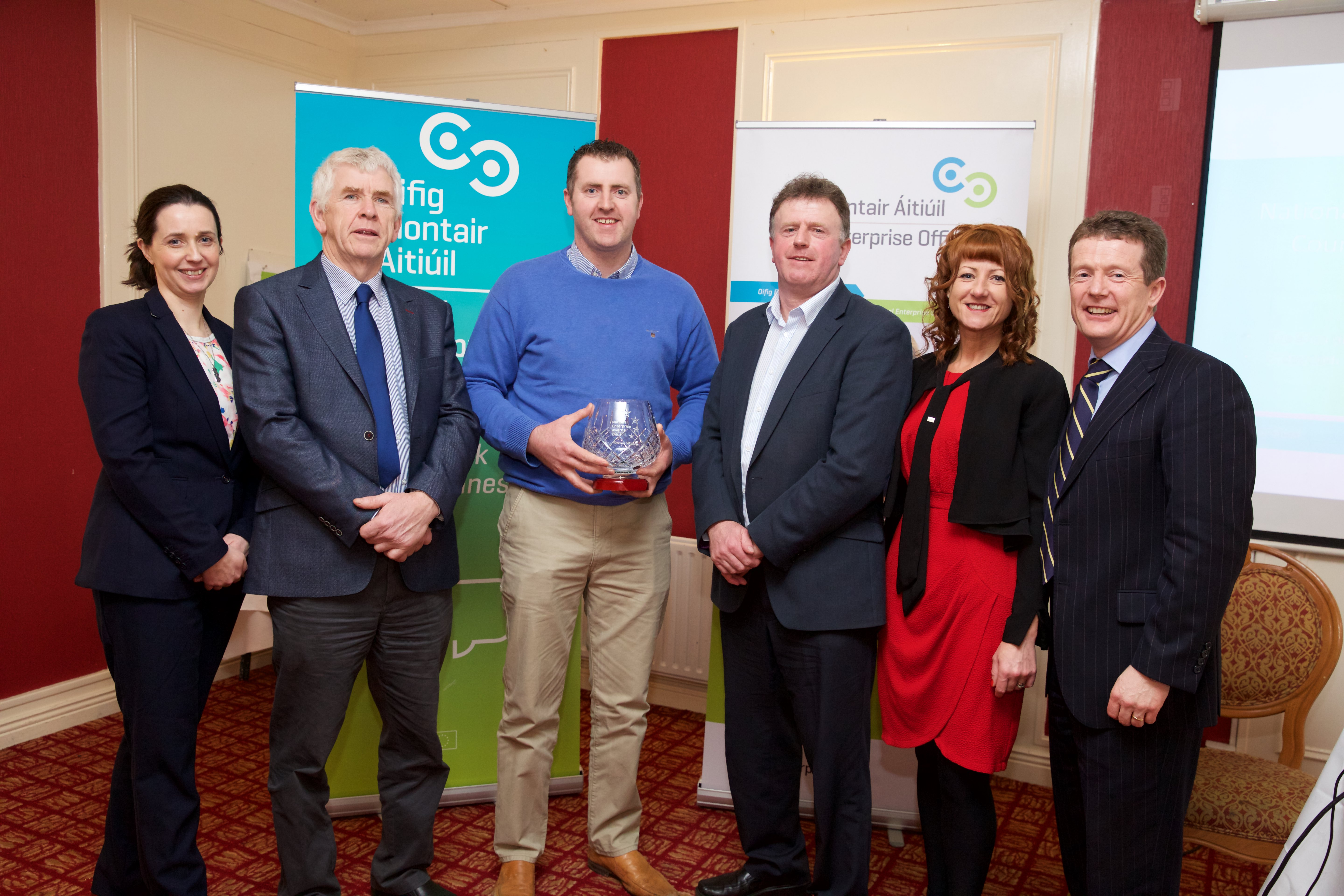 Winner of National Enterprise Awards County Final