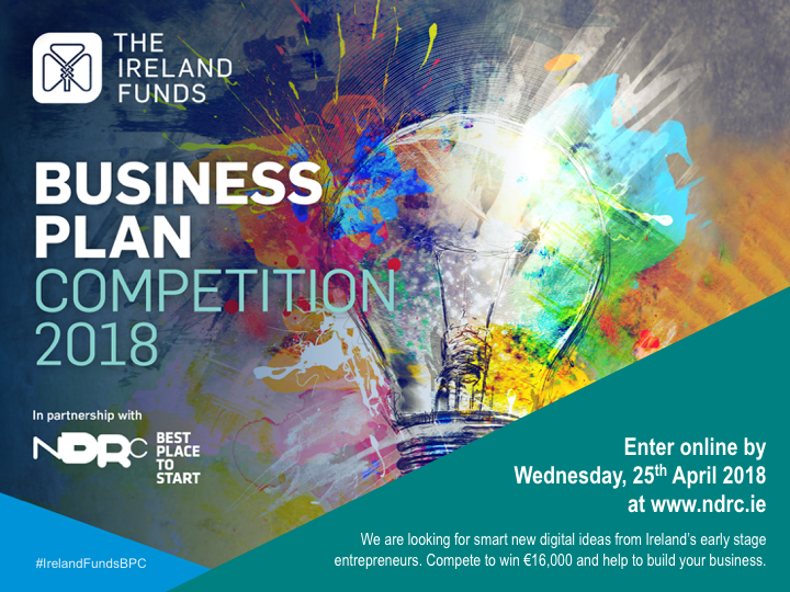 The Ireland Funds Competition 2018