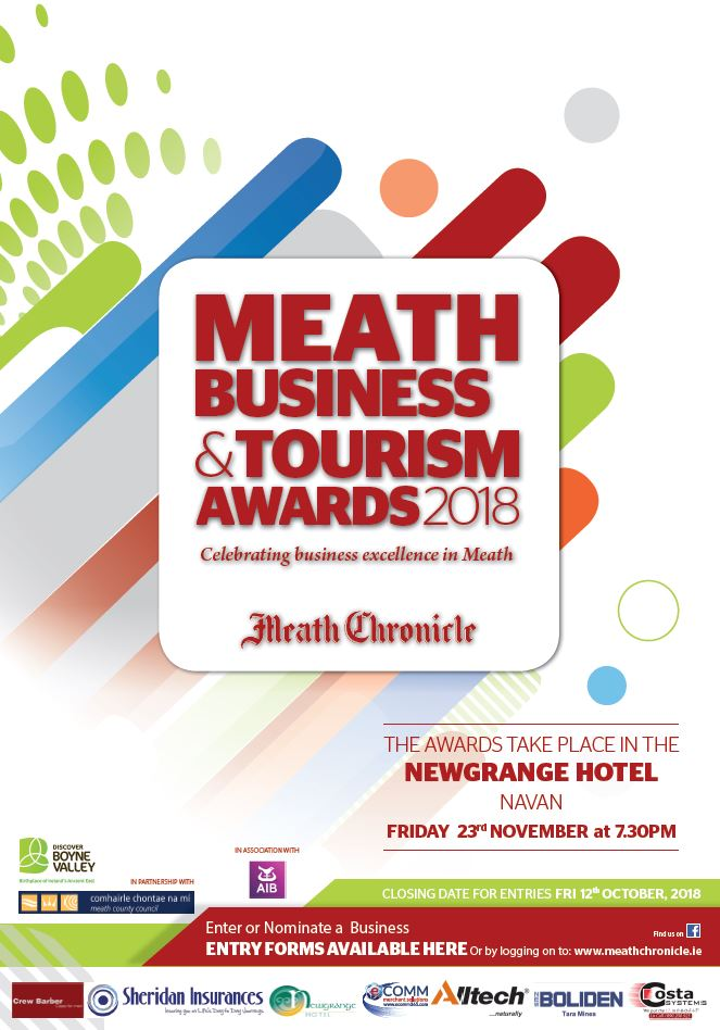 Business and Tourism Awards 2018 Poster