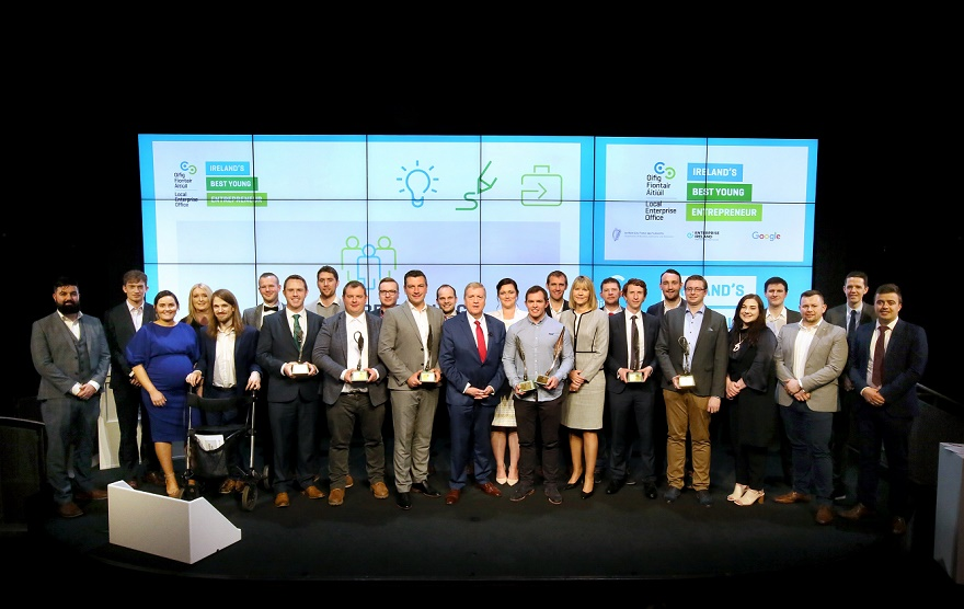 IBYE Winners & Finalists Group Shot