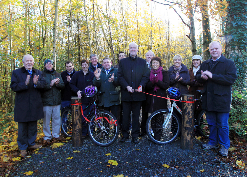 New cycle path opening in Killykeen