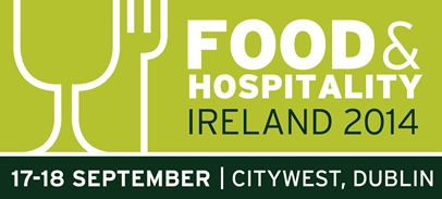 Food and hospitality show logo