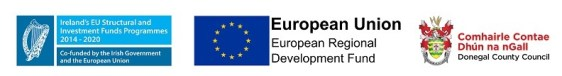 ERDF Local Authority and DCC Logo