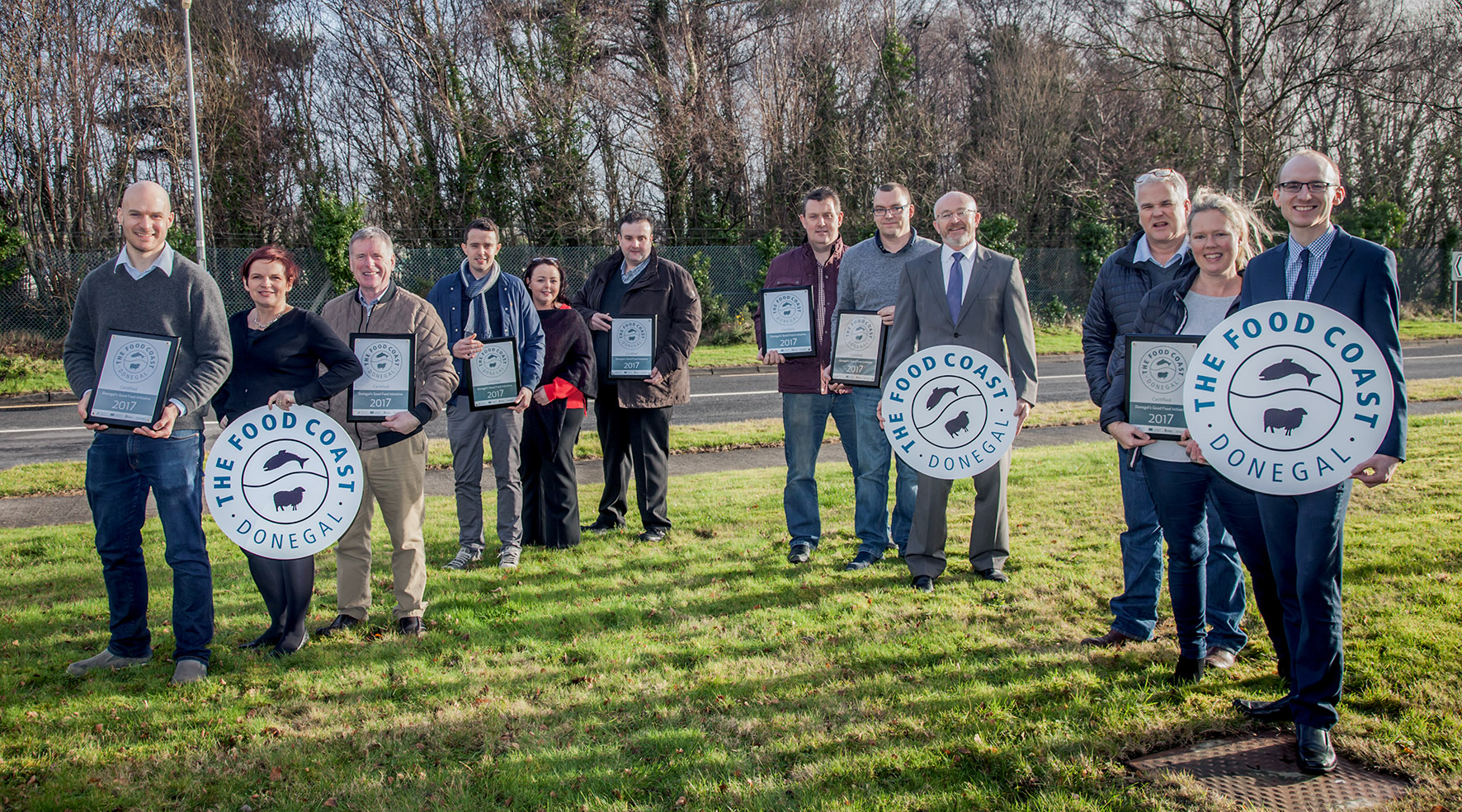 Donegal Food Coast Plaques Presentation 2017