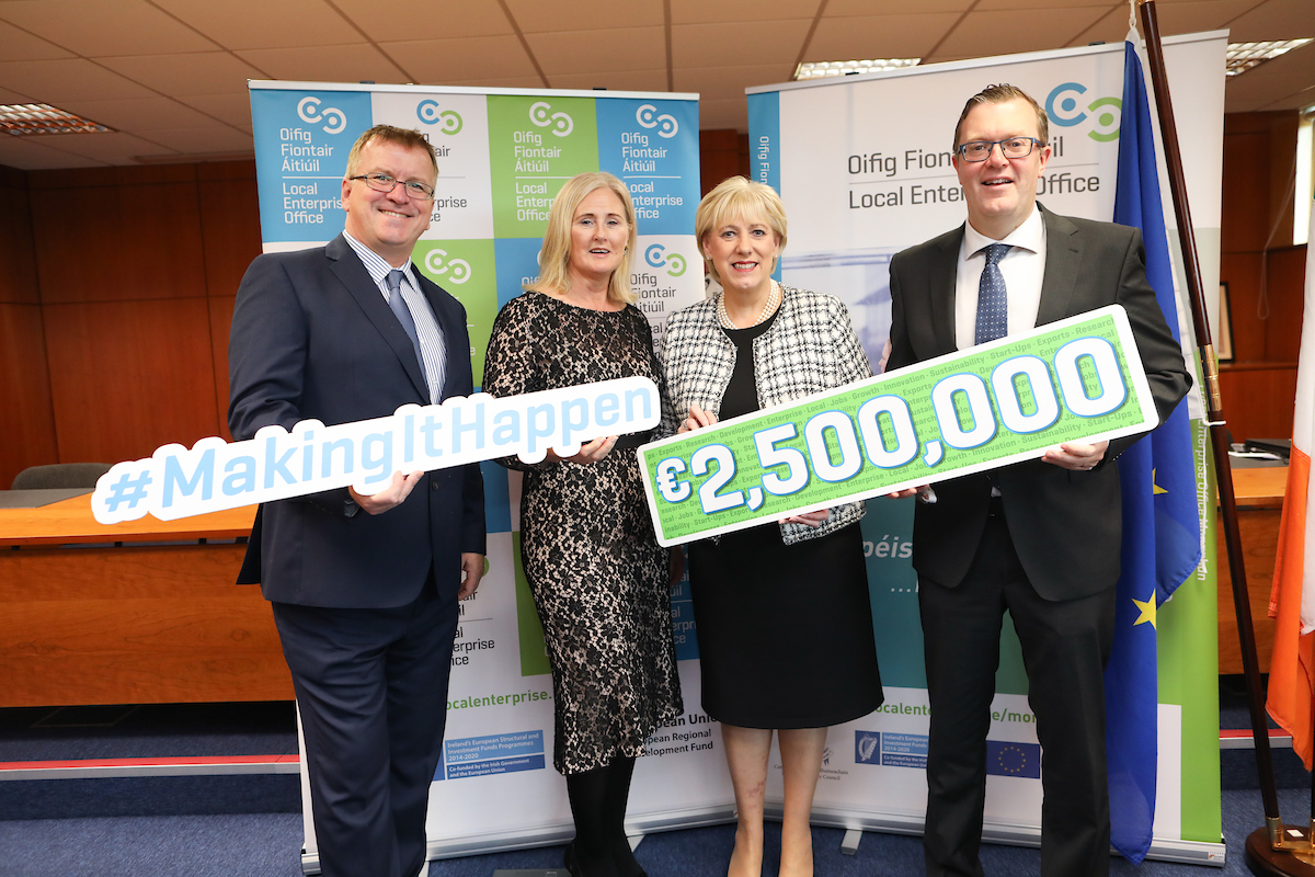 SOUTH EAST LOCAL ENTERPRISE OFFICE  PROJECTS SECURE ALLOCATION FROM €2.5MILLION COMPETITIVE FUND
