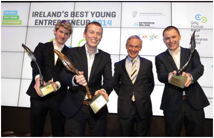 Irelands Best Young Entrepreneur 2014 Winners