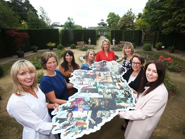 Women in Enterprise with Map of Ireland