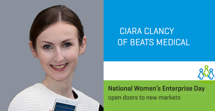 Dublin-Ciara Clancy of Beats Medical
