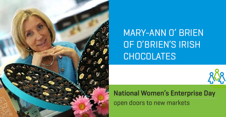 Kildare-Mary-Ann O Brien of O Brien's Irish Chocolates