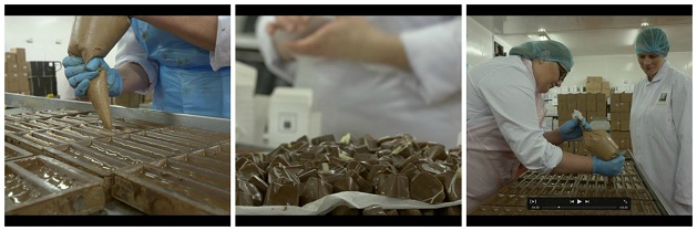 Manufacture of chocolates