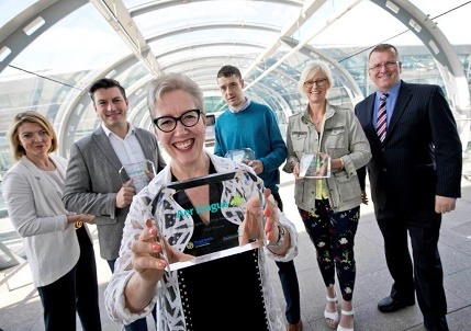 Four rising Irish start-ups in Fingal (WeBringg, Hope Beer, MIAS Pharma, Buster Box) have been announced as the winners of Aer Lingus' inaugural TakeOff Foundation Start-Up Awards.