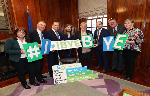 Ireland Best Young Entrepreneur Launch 1