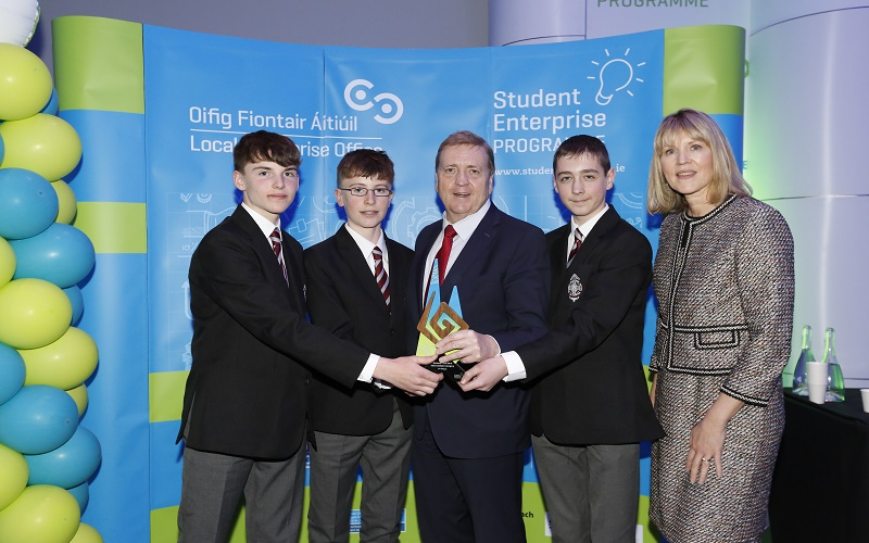 Student Enterprise Awards Intermediate Category Winner