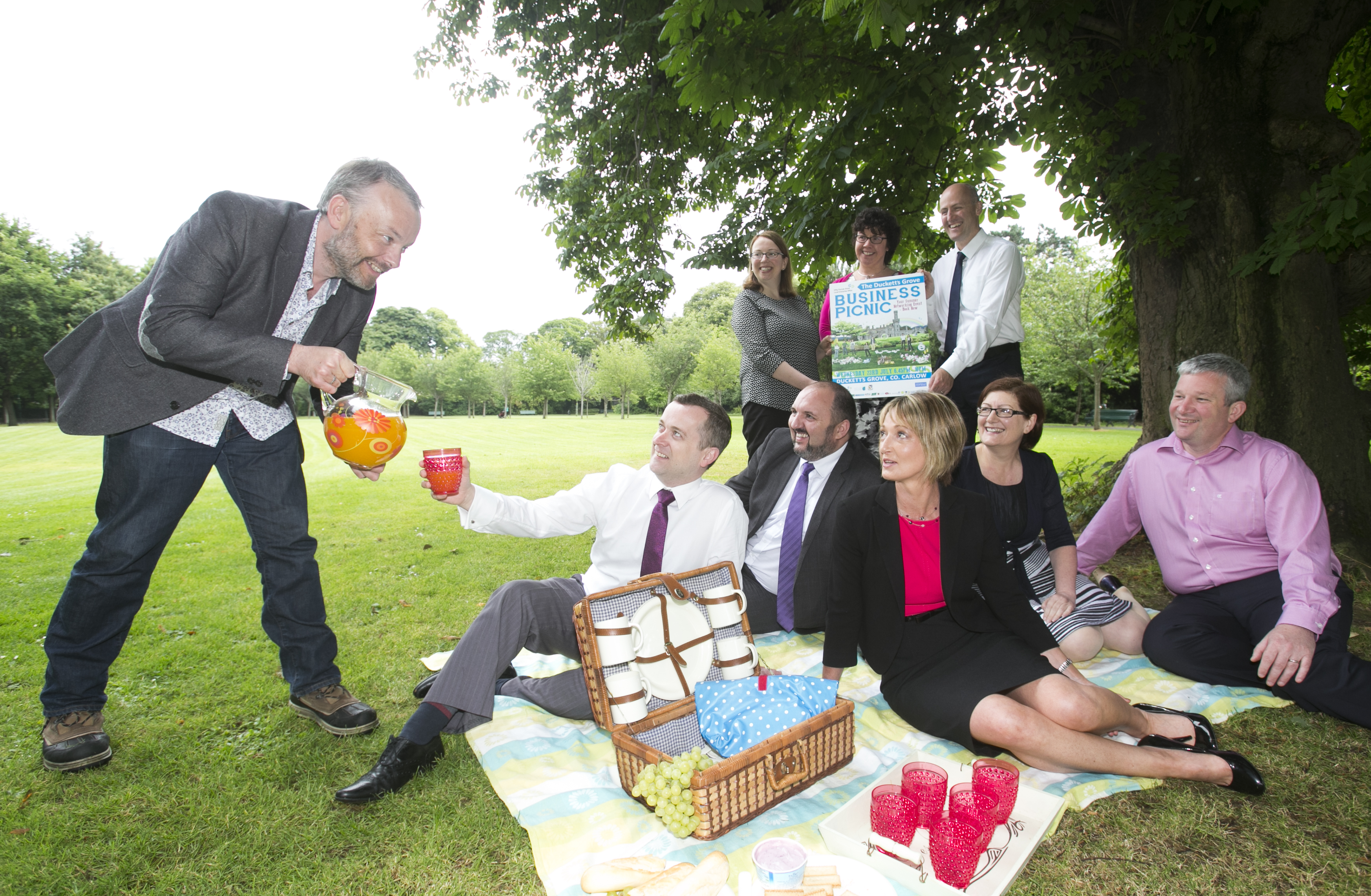 Business Picnic Launch