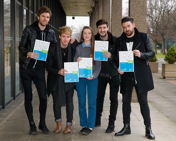 Kodaline announce Student Enterprise Awards 2016