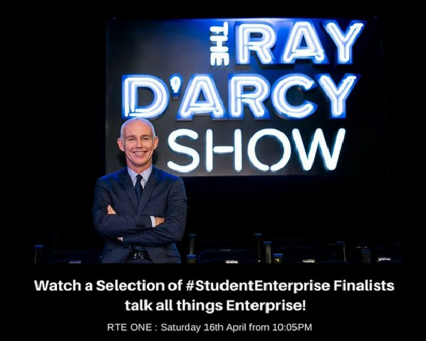 Ray Darcy Show Student Enterprise Awards