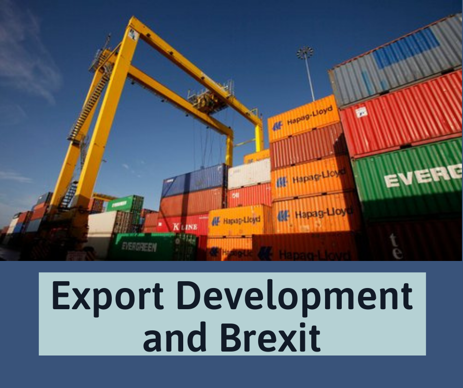 Export Dev and Brexit