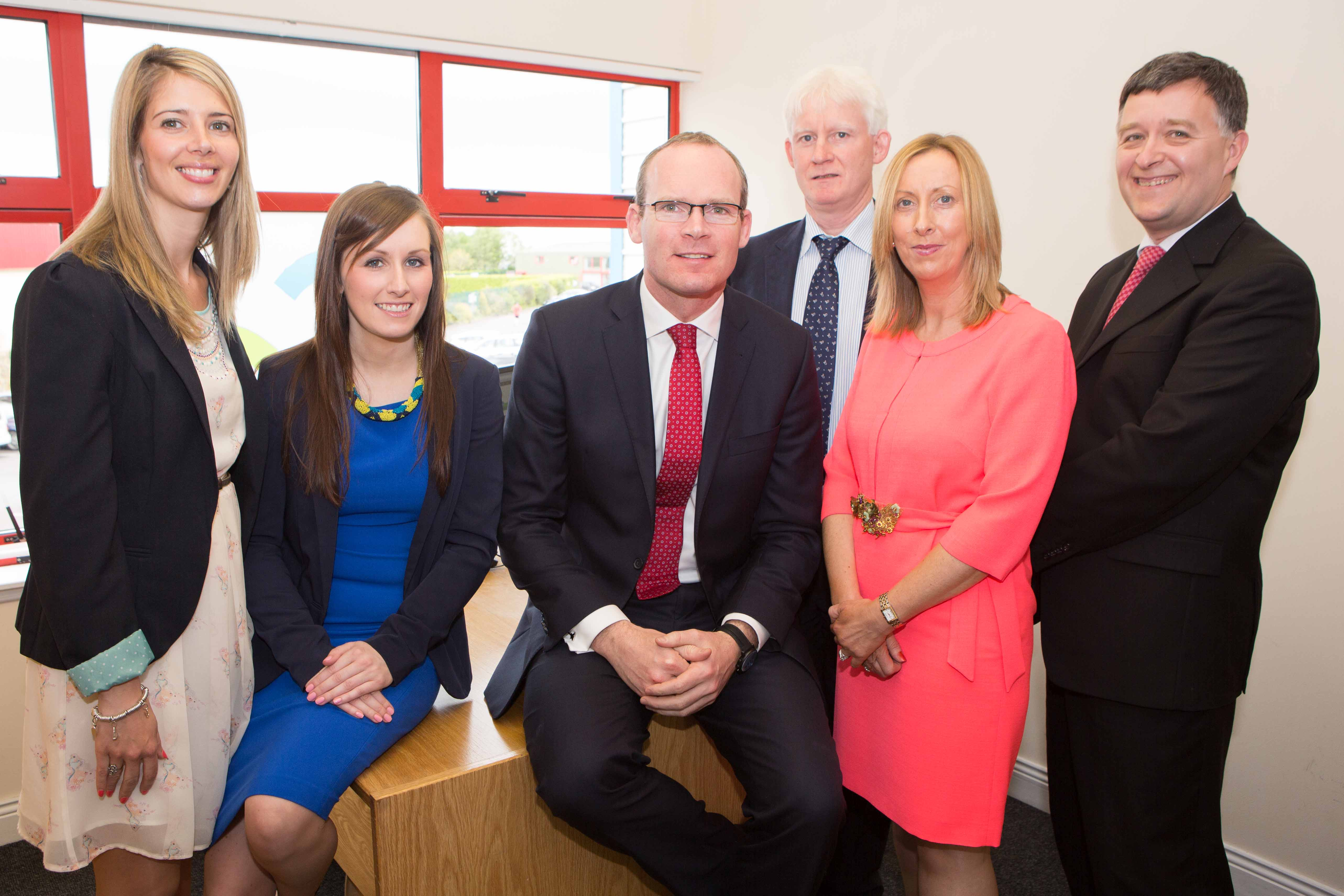 Staff Photo with Minister Simon Coveney