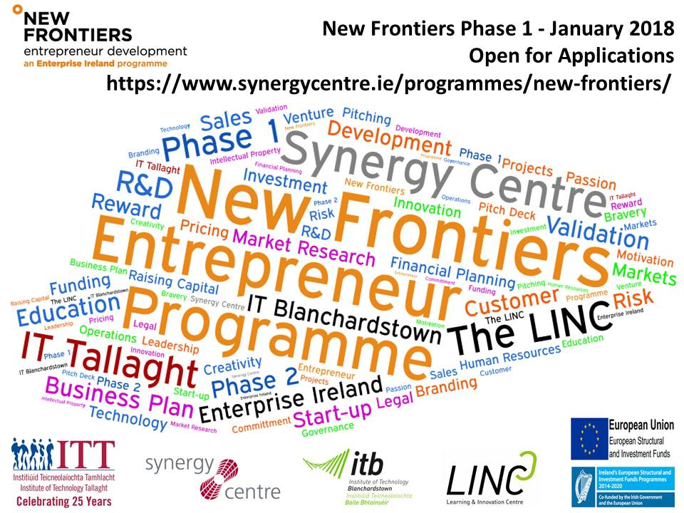 New Frontiers Phase 1 Programme January 2018