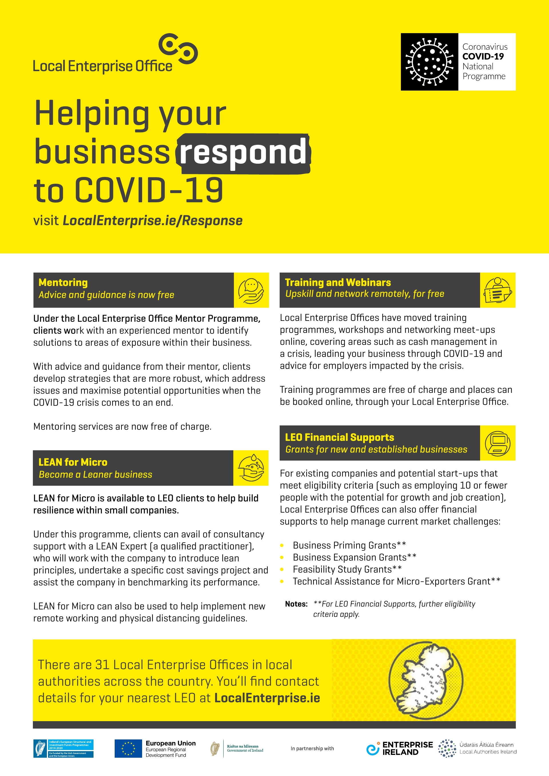 Helping your  business respond  to COVID-19 pg2