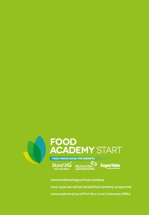 Food Academy Programme 2018 - Local Enterprise Office - Clare