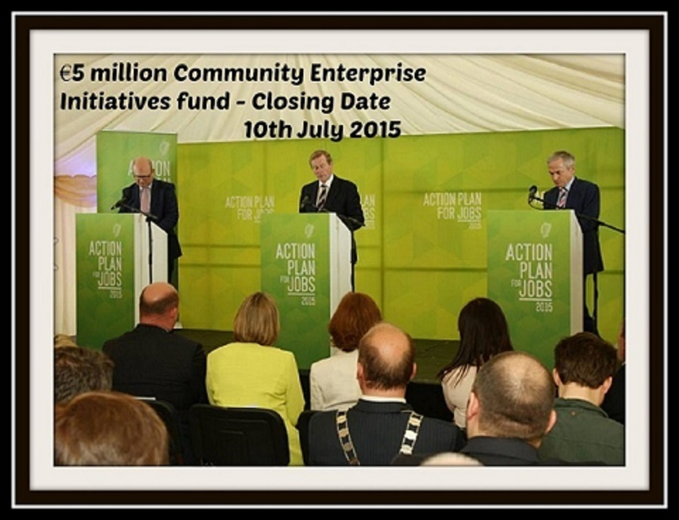 Community Enterprise Iniative Launch 2015