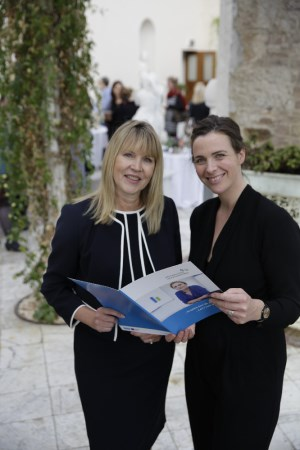 Sheelagh Daly Head of Enterprise LEO Wicklow and Fionnuala Ardee of Killruddery House at the National Women's Enterprise Day_